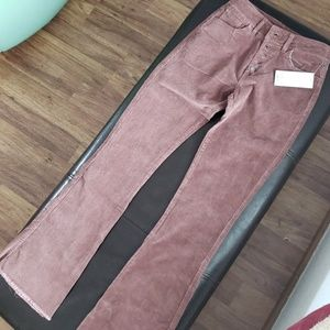 Purplish Suede Pants